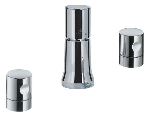- Hansgrohe HG38220000 Axor Uno Deck Mount Vertical Bidet Faucet, Chrome
