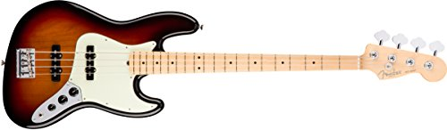 Fender American Professional Jazz Bass - 3-color Sunburst w/Maple Fingerboard ()