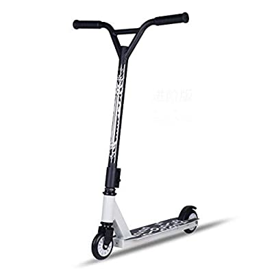 SWORDlimit Pro Scooters - D20 Scooters for Kids, Adults and Teens - Trick Scooters Perfect for Beginners Boys and Girls - Deck 6061 Aluminum T6 Heat Treatment,White: Sports & Outdoors