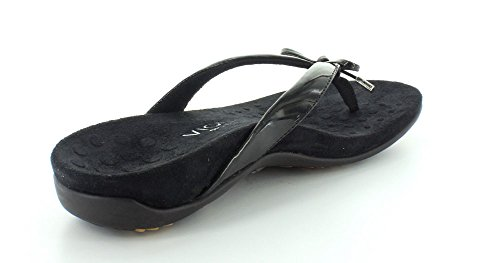 Vionic Orthaheel by Orthaheel Bella 2 Womens Thong Sandals Black 9 M dbB4oi