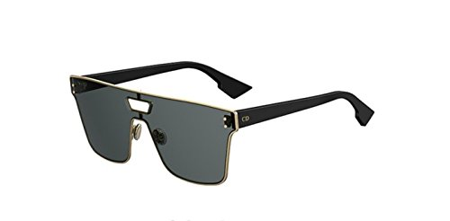 New Christian Dior Izon 1 J5G/2K Gold Black/Grey - And Sunglasses Christian Dior Black Gold