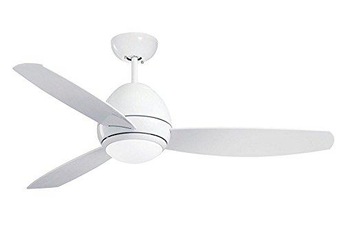 Emerson CF244LWW Curva 44-inch Modern Ceiling Fan, 3-Blade C