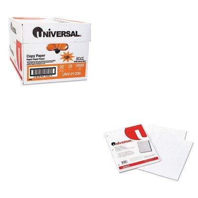 KITUNV20923UNV21200 - Value Kit - Universal Mediumweight 16-lb. Filler Paper (UNV20923) and Universal Copy Paper (UNV21200)