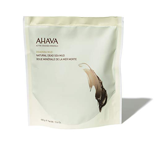 AHAVA Natural Dead Sea Mud for Body, 13.6 oz
