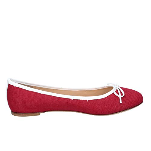 Textil Borgoña Mujer Bailarinas Kt 18 wpqPxR4YW