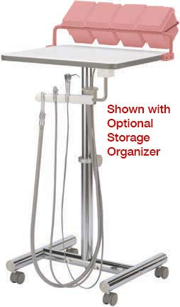 DCI Reliance Operatory Support Cart with Assistant's Instruments R4221