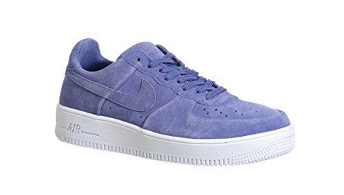 (Nike Air Force 1 Ultraforce Low Men's Blue Moon Basketball Sneakers 13)