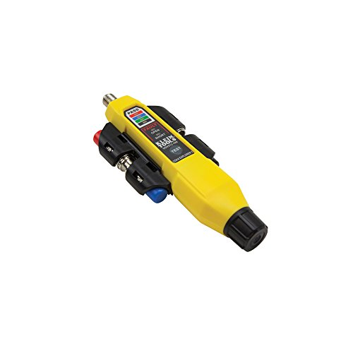 Coax Tester Tracer Mapper with Remote Kit, Test up to 4 Locations, Explorer 2 Klein Tools VDV512-101 by Klein Tools (Image #1)