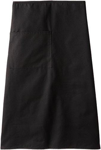 Red Kap Chef DesignsBistro Apron, Black, 28x32