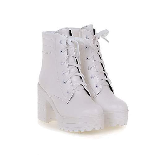 Sandali Sandali Zeppa con 35 AN Bianco EU EU DKU01988 White Donna 5t1ngqxagw