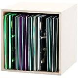 Glorious Record Box 110 Vinyl LP Storage - White