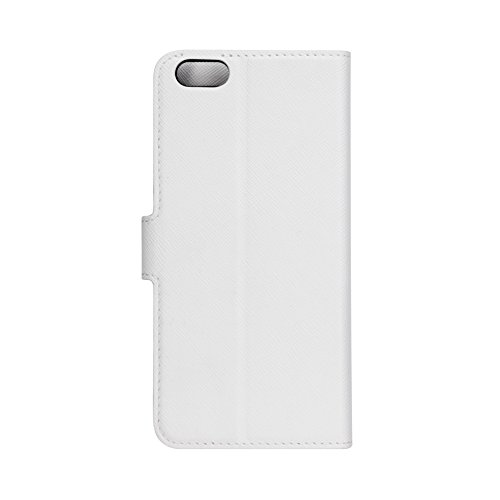 XQISIT Wallet Case Viskan for iPhone 66s white (25415)