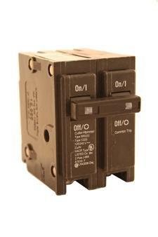 Eaton BR280 Plug-On Mount Type BR Circuit Breaker 2-Pole 80 Amp 120/240 Volt ()