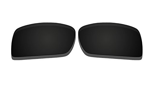 Black Polarized Replacement Lenses for Oakley Gascan - Oakley Replacement Lens Gascan