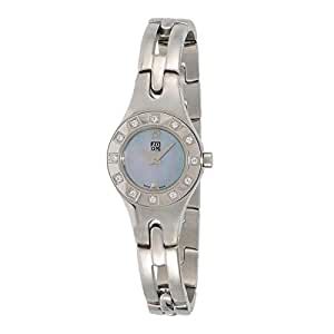 Zoom Classic Women's Blue Dial Stainless Steel Band Watch - 602