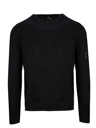- STONE ISLAND SHADOW PROJECT Men's 7019501A1v0029 Black Cotton Jumper