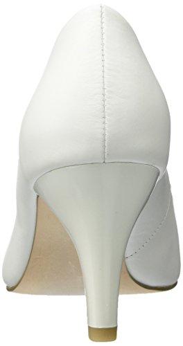 Caprice 22412, Zapatos de Tacón para Mujer Blanco (White Nappa)