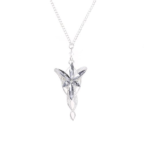 Jocestyle fashion clothing accessories lord of the rings elf jocestyle fashion clothing accessories lord of the rings elf princess aragorn arwen silver dragon pendant necklace aloadofball Images