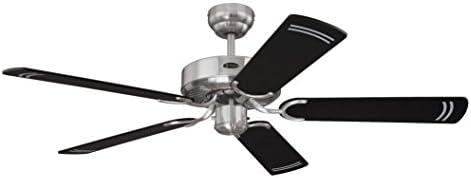 Westinghouse Ceiling Fans Cyclone Ventilador de Techo, Acero ...