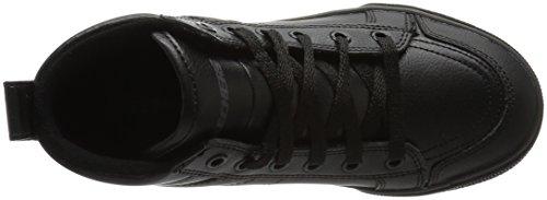 Skechers Kids Boys Brixor Slick Kickz Sneaker Black/Black