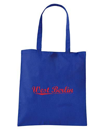 Borsa Shopper Royal Blu TSTEM0263 AGED WEST BERLIN