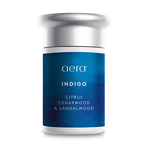 AERA Indigo Scented Home Fragrance, Hypoallergenic Formula with Notes of Citrus, Cedarwood, Sandalwood - Schedule Using App Smart 2.0 Diffusers - State of The Art Air Freshener Technology