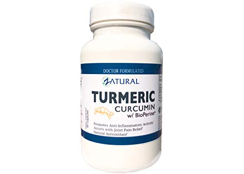 Best Turmeric Curcumin w/Bioperine. Award Winning_Professional Strength -95% Curcuminoids. Doctor Formulated. Non-GMO, Vegan, GF, NO Fillers or Binders. Backed by Research. 3rd Party Tested.
