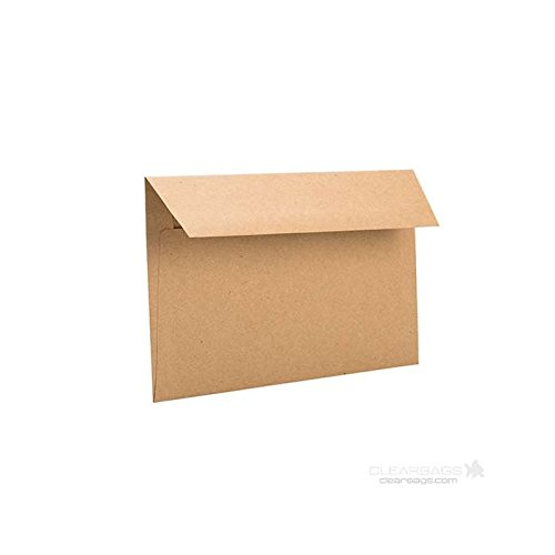 - Brown Bag Envelopes by ClearBags   Rustic Theme for Invitations/Announcements for Wedding, Showers, Graduation   Heavy 70 Pound Paper   50 Envelopes (A9   8 3/4