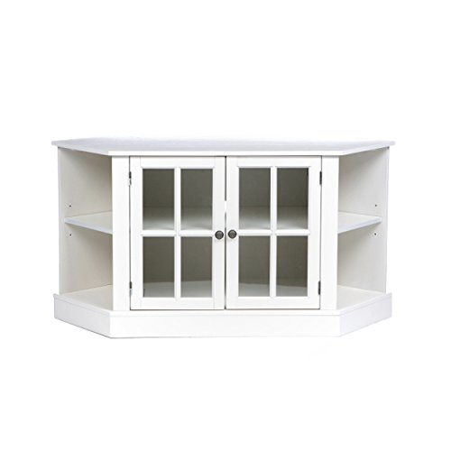 Southern Enterprises, Inc. Thomas Corner Media Stand - White