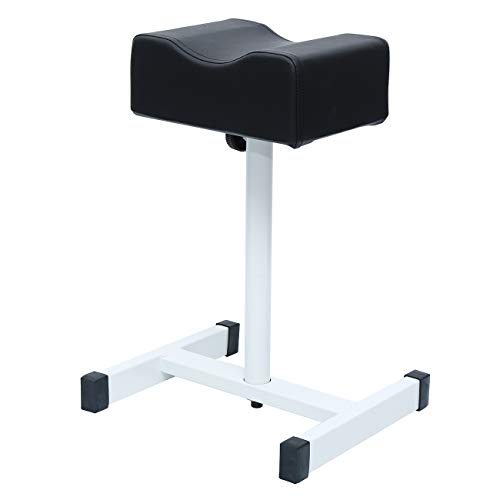 Yonntech Adjustable Nail Footrest Pedicure Manicure Technician Beauty Stand Stool Salon Spa Equipment Black
