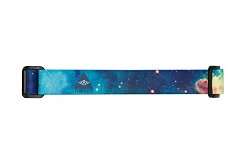 (Third Eye Headlamps - Totally Awesome Headbands - Replacement Headlamp Band - Six Style Options - Artist Designed - Super Soft - Personalize Your Headlamp - Universal - Fits Most Headlamps (Galaxy))