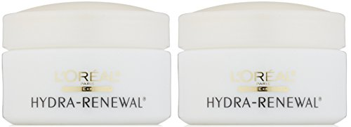 L'Oreal Paris Hydra-Renewal Continuous Moisture Cream, for Dry, Sensitive Skin, 1.7 Ounce (Pack of (Hydra Renewal Continuous Moisture Cream)