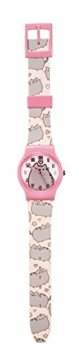 official-fan-cat-stic-pusheen-childs-analogue-watch-with-plastic-strap-for-kids