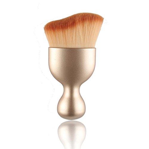 Bolayu Women Fashion Shadow Contour Makeup Brush (Gold1)