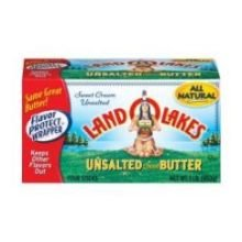 Land O Lakes Unsalted Sweet Cream Butter Stick, 1 Pound -- 18 per case. by Land O Lakes