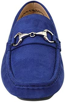 Royal blue mens loafers _image1