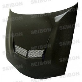 (SEIBON 95-99 Eclipse Carbon Fiber Hood VSII 4G63/2G 97)