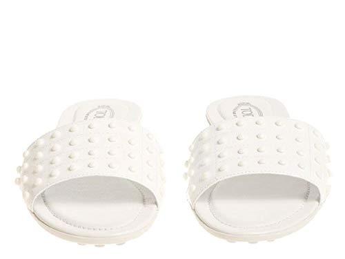 Tod's Cuir pieds Nu Xxw0ov0y401ow0b001 Femme Code En Modèle Blanc Vernì xIrIBdq5w