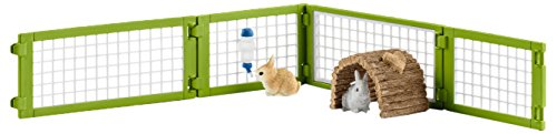 Schleich Rabbit Hutch Play Set (8 - Hand Hutch Painted