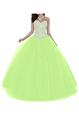 Gorgeous Bride Elegant Herzform Lang ALinie Ballon Tuell Satin ...