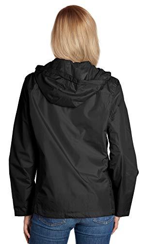 Equipment De Sport USA Ladies Hooded Wind Resistant//Water Repellent Windbreaker Jacket