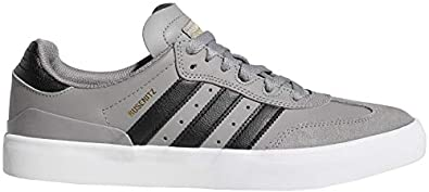 premium selection 93ad0 0d710 adidas Busenitz Vulc RX Skate Shoes Heather GreyBlackWhite Mens Sz 11.5