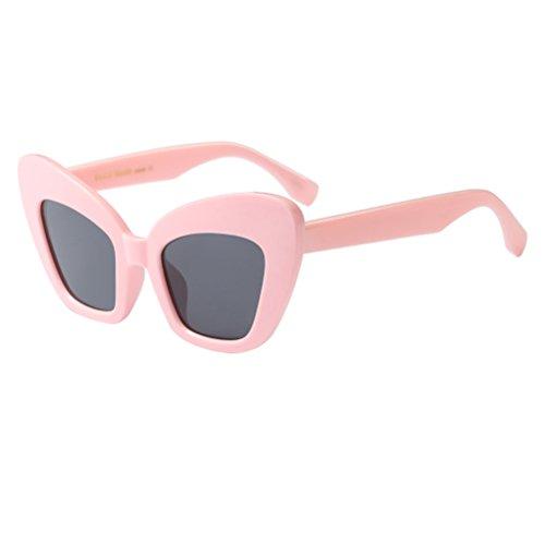 Zhuhaitf Rétro Unisexe Lunettes Femmes Soleil De Style5 De Ombres Pink Protection Hommes UV400 Vintage rr1qgnw6