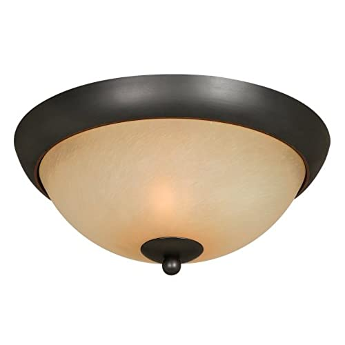 hardware house 543744 berkshire 12 inch by 5 14 inch ceiling lighting fixture classic bronze - Bathroom Ceiling Lights