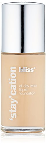 bliss Stay'cation Long Wear Liquid Foundation, Ivory, 1.1 fl. oz.