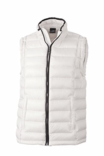 Women's S James Black Down Puffer amp; Quilted Off Nicholson White Jacket JN1081 6v6PXEr
