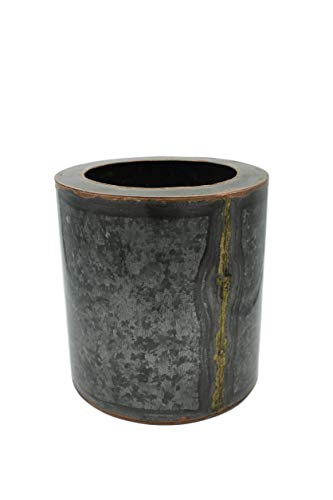 Alchemade Medium Black Antique Iron Planter ()