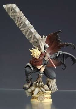 Kingdom Hearts Series 2 Formation Arts Cloud Strife Action Figure