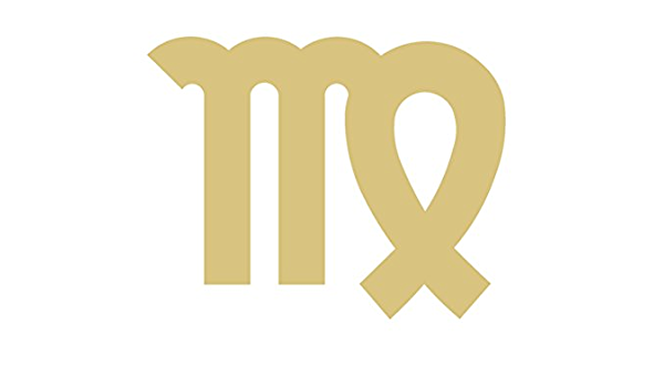 Wooden Zodiac Symbols Blank Wood Craft Embellishments Taurus Astrological Sign Cutouts Wood Taurus Symbol Cutout