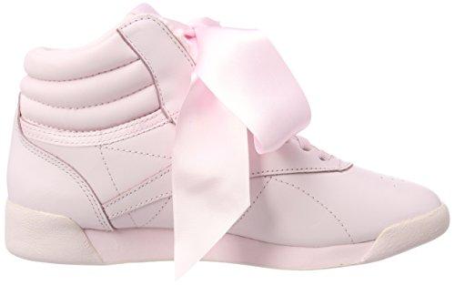 Reebok Grey Pinkskull Hi Baskets Freestyle Rose porcelain fqT6BUAwUx